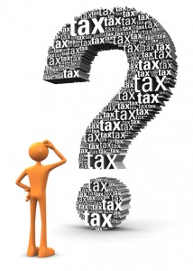 Questions about tax 2013