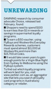 Loyalty cards Increase spending 20 June 2011