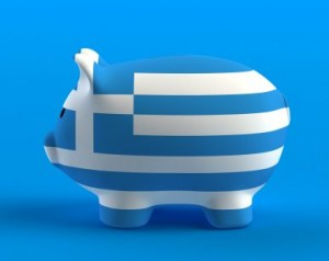Greek Piggy Bank