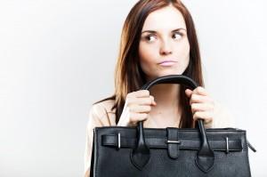 Budget-busting handbag