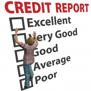 What does your credit report say?
