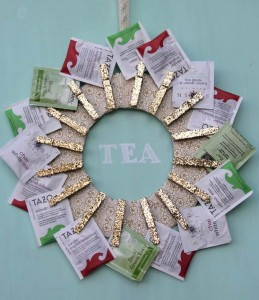 Tea wreath via Kojo Designs MyBudget