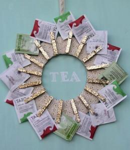 Tea wreath via Kojo Designs MyBudget