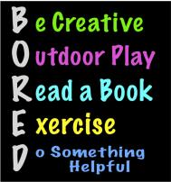 A bit of boredom can be good for kids