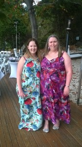 Suzanne and her daughter on Daydream Island