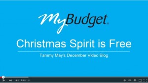 Christmas spending tips from MyBudget